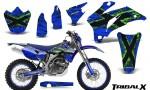 Yamaha WR 250 450 07 10 CreatorX Graphics Kit TribalX Green Blue NP Rims 150x90 - Yamaha WR450F 2007-2011 Graphics