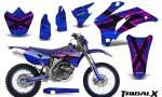 Yamaha WR 250 450 07 10 CreatorX Graphics Kit TribalX Pink Blue NP Rims 150x90 - Yamaha WR450F 2007-2011 Graphics