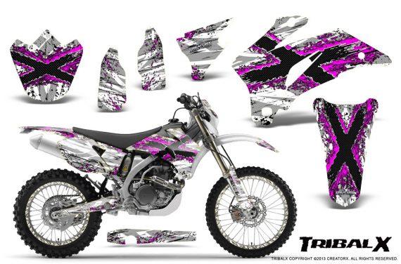 Yamaha WR 250 450 07 10 CreatorX Graphics Kit TribalX Pink White NP Rims 570x376 - Yamaha WR450F 2007-2011 Graphics