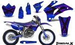 Yamaha WR 250 450 07 10 CreatorX Graphics Kit TribalX Purple Blue NP Rims 150x90 - Yamaha WR450F 2007-2011 Graphics