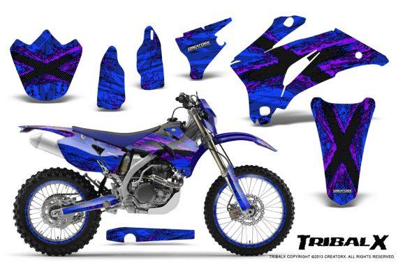 Yamaha WR 250 450 07 10 CreatorX Graphics Kit TribalX Purple Blue NP Rims 570x376 - Yamaha WR450F 2007-2011 Graphics