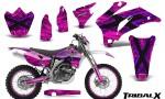 Yamaha WR 250 450 07 10 CreatorX Graphics Kit TribalX Purple Pink NP Rims 150x90 - Yamaha WR450F 2007-2011 Graphics