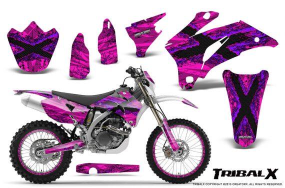 Yamaha WR 250 450 07 10 CreatorX Graphics Kit TribalX Purple Pink NP Rims 570x376 - Yamaha WR450F 2007-2011 Graphics