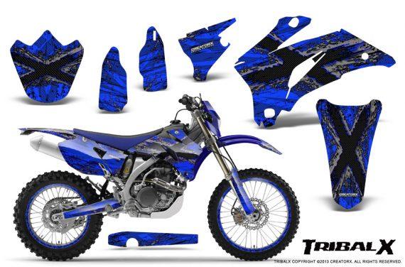 Yamaha WR 250 450 07 10 CreatorX Graphics Kit TribalX Silver Blue NP Rims 570x376 - Yamaha WR450F 2007-2011 Graphics