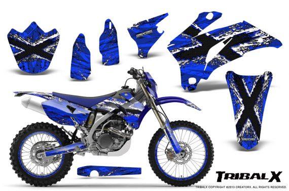 Yamaha WR 250 450 07 10 CreatorX Graphics Kit TribalX White Blue NP Rims 570x376 - Yamaha WR450F 2007-2011 Graphics