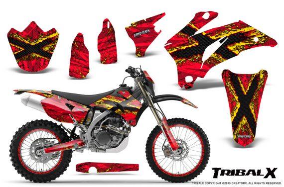 Yamaha WR 250 450 07 10 CreatorX Graphics Kit TribalX Yellow Red NP Rims 570x376 - Yamaha WR450F 2007-2011 Graphics