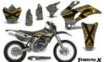 Yamaha WR 250 450 07 10 CreatorX Graphics Kit TribalX Yellow Silver NP Rims 150x90 - Yamaha WR450F 2007-2011 Graphics