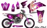 Yamaha WR 250 450 07 10 CreatorX Graphics Kit You Rock Pink NP Rims 150x90 - Yamaha WR450F 2007-2011 Graphics