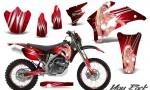 Yamaha WR 250 450 07 10 CreatorX Graphics Kit You Rock Red NP Rims 150x90 - Yamaha WR450F 2007-2011 Graphics