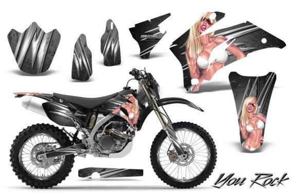 Yamaha WR 250 450 07 10 CreatorX Graphics Kit You Rock Silver NP Rims 570x376 - Yamaha WR450F 2007-2011 Graphics