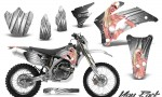 Yamaha WR 250 450 07 10 CreatorX Graphics Kit You Rock White NP Rims 150x90 - Yamaha WR450F 2007-2011 Graphics