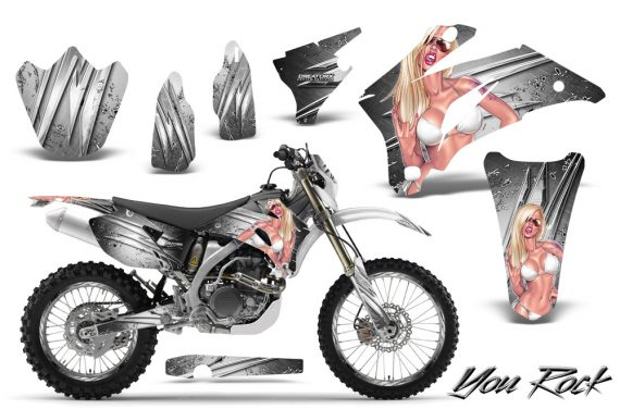 Yamaha WR 250 450 07 10 CreatorX Graphics Kit You Rock White NP Rims 570x376 - Yamaha WR450F 2007-2011 Graphics