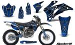 Yamaha WR 250 450 07 10 Graphics Kit SpiderX Blue NP Rims 150x90 - Yamaha WR450F 2007-2011 Graphics