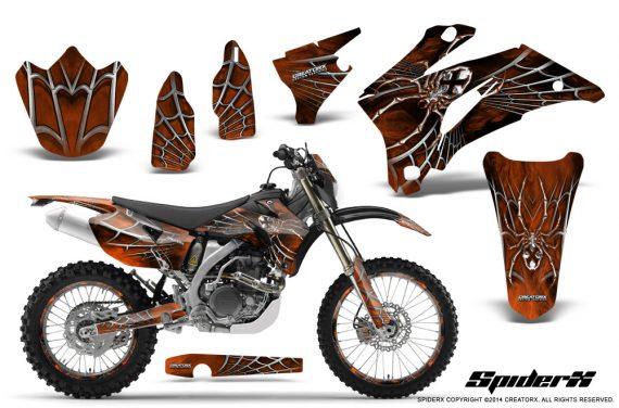 Yamaha-WR-250-450-07-10-Graphics-Kit-SpiderX-OrangeDark-NP-Rims