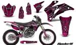 Yamaha WR 250 450 07 10 Graphics Kit SpiderX Pink NP Rims 150x90 - Yamaha WR450F 2007-2011 Graphics