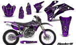 Yamaha WR 250 450 07 10 Graphics Kit SpiderX Purple NP Rims 150x90 - Yamaha WR450F 2007-2011 Graphics