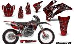 Yamaha WR 250 450 07 10 Graphics Kit SpiderX Red NP Rims 150x90 - Yamaha WR450F 2007-2011 Graphics