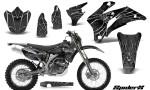 Yamaha WR 250 450 07 10 Graphics Kit SpiderX Silver NP Rims 150x90 - Yamaha WR450F 2007-2011 Graphics