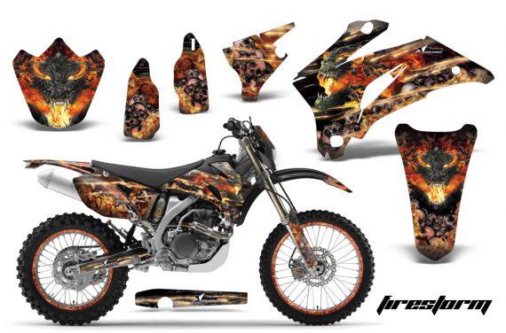Yamaha WR250F WR450F 07 11 AMR Graphics Kit FS B NPs 570x376 - Yamaha WR450F 2007-2011 Graphics