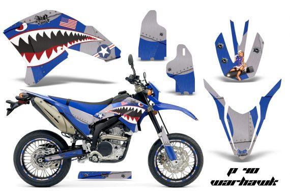 Yamaha WR250X R 07 09 AMR Graphics Kit P40 BL NPs 570x376 - Yamaha WR250 R-X 2007-2019 Graphics