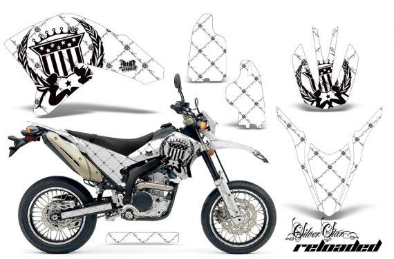 Yamaha WR250X R 07 09 AMR Graphics Kit SSR BW NPs 570x376 - Yamaha WR250 R-X 2007-2019 Graphics