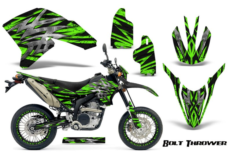Yamaha-WR250X-R-Graphics-Kit-Bolt-Thrower-Green-NP-Rims