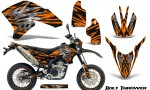 Yamaha WR250X R Graphics Kit Bolt Thrower Orange NP Rims 150x90 - Yamaha WR250 R-X 2007-2016 Graphics