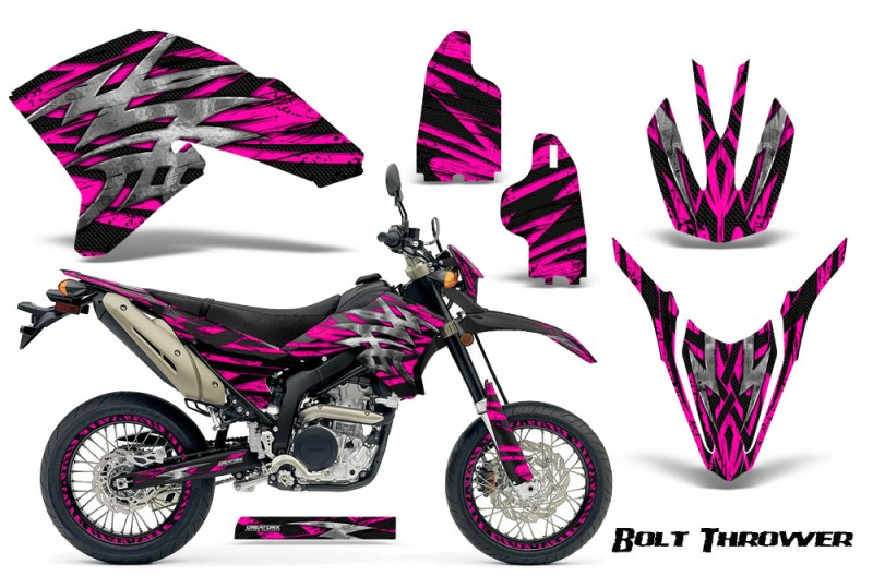 Yamaha-WR250X-R-Graphics-Kit-Bolt-Thrower-Pink-NP-Rims