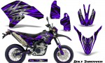Yamaha WR250X R Graphics Kit Bolt Thrower Purple NP Rims 150x90 - Yamaha WR250 R-X 2007-2019 Graphics