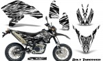 Yamaha WR250X R Graphics Kit Bolt Thrower White NP Rims 150x90 - Yamaha WR250 R-X 2007-2016 Graphics