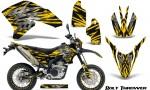 Yamaha WR250X R Graphics Kit Bolt Thrower Yellow NP Rims 150x90 - Yamaha WR250 R-X 2007-2019 Graphics