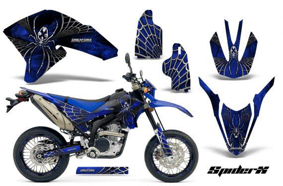 Yamaha WR250X R Graphics Kit SpiderX Blue NP Rims 570x376 - Yamaha WR250 R-X 2007-2019 Graphics