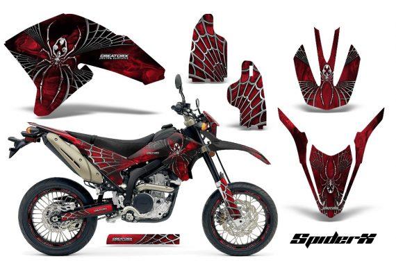 Yamaha WR250X R Graphics Kit SpiderX Red NP Rims 570x376 - Yamaha WR250 R-X 2007-2016 Graphics