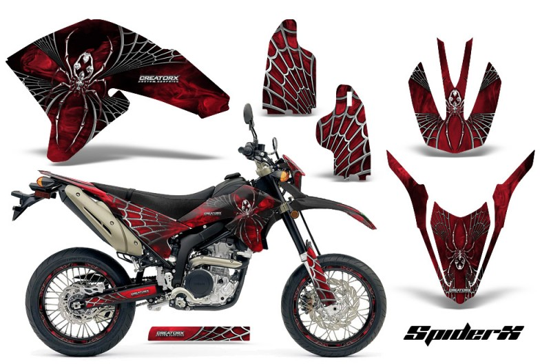 Yamaha-WR250X-R-Graphics-Kit-SpiderX-Red-NP-Rims