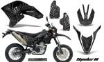 Yamaha WR250X R Graphics Kit SpiderX Silver NP Rims 150x90 - Yamaha WR250 R-X 2007-2019 Graphics