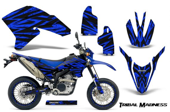 Yamaha WR250X R Graphics Kit Tribal Madness Blue NP Rims 570x376 - Yamaha WR250 R-X 2007-2019 Graphics