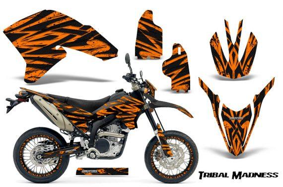 Yamaha WR250X R Graphics Kit Tribal Madness Orange NP Rims 570x376 - Yamaha WR250 R-X 2007-2019 Graphics