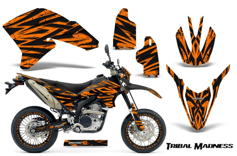 Yamaha-WR250X-R-Graphics-Kit-Tribal-Madness-Orange-NP-Rims