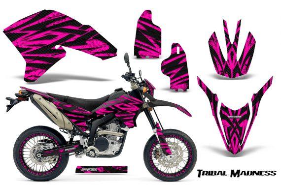 Yamaha WR250X R Graphics Kit Tribal Madness Pink NP Rims 570x376 - Yamaha WR250 R-X 2007-2019 Graphics