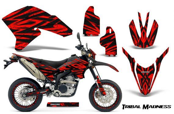 Yamaha WR250X R Graphics Kit Tribal Madness Red NP Rims 570x376 - Yamaha WR250 R-X 2007-2019 Graphics