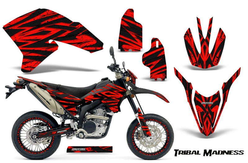 Yamaha-WR250X-R-Graphics-Kit-Tribal-Madness-Red-NP-Rims