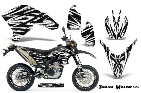 Yamaha WR250X R Graphics Kit Tribal Madness White NP Rims 570x376 - Yamaha WR250 R-X 2007-2019 Graphics