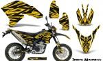 Yamaha WR250X R Graphics Kit Tribal Madness Yellow NP Rims 150x90 - Yamaha WR250 R-X 2007-2019 Graphics