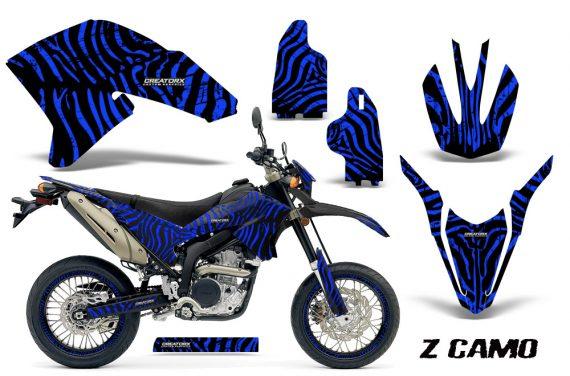 Yamaha WR250X R Graphics Kit ZCamo Blue NP Rims BB 570x376 - Yamaha WR250 R-X 2007-2016 Graphics