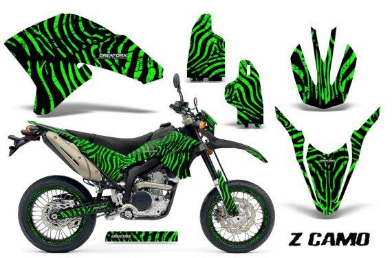 Yamaha WR250X R Graphics Kit ZCamo Green NP Rims 570x376 - Yamaha WR250 R-X 2007-2019 Graphics