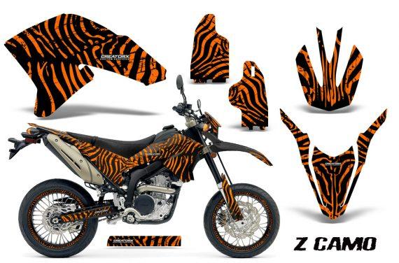 Yamaha WR250X R Graphics Kit ZCamo Orange NP Rims 570x376 - Yamaha WR250 R-X 2007-2016 Graphics