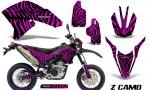 Yamaha WR250X R Graphics Kit ZCamo Pink NP Rims 150x90 - Yamaha WR250 R-X 2007-2019 Graphics