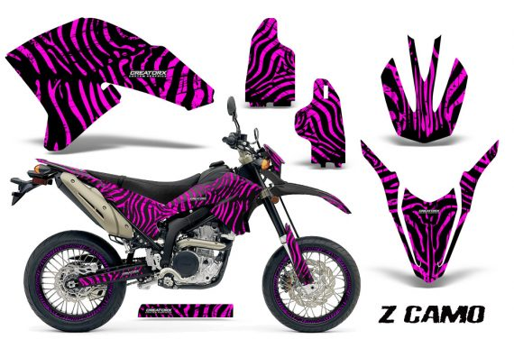 Yamaha WR250X R Graphics Kit ZCamo Pink NP Rims 570x376 - Yamaha WR250 R-X 2007-2016 Graphics