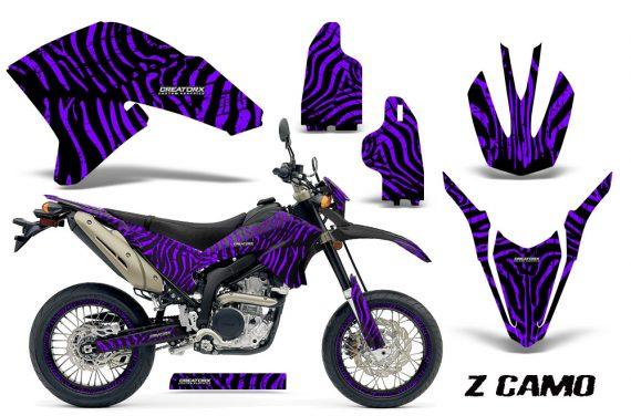 Yamaha WR250X R Graphics Kit ZCamo Purple NP Rims 570x376 - Yamaha WR250 R-X 2007-2016 Graphics
