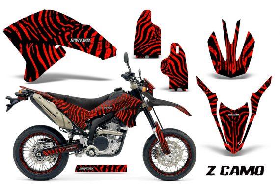 Yamaha WR250X R Graphics Kit ZCamo Red NP Rims 570x376 - Yamaha WR250 R-X 2007-2019 Graphics